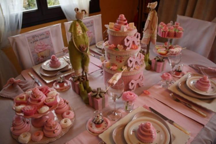 D co de table sweet table pour go ter d 39 anniversaire - Deco journal des femmes ...