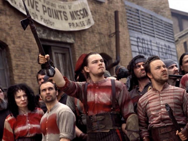 Leonardo DiCaprio dans Gangs of New York