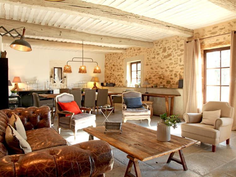 bergerie chic toujours plus d 39 id es pour d corer mon salon journal des femmes. Black Bedroom Furniture Sets. Home Design Ideas