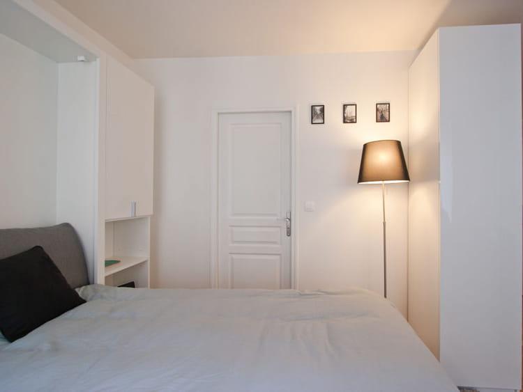 chambre blanche pour petit espace du blanc pour une
