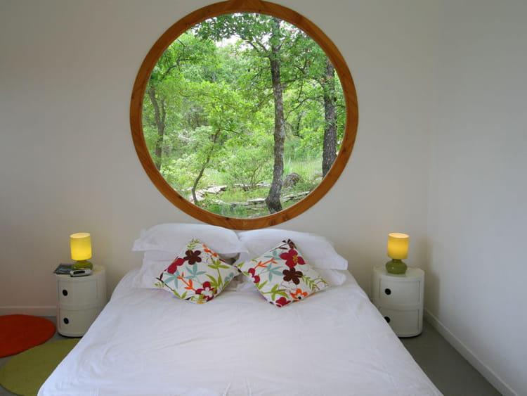 Chambre ouverte sur la nature chambre une d co tout en blanc journal des femmes - Decoratie chambre natuur ...