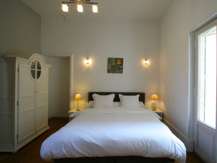 D coration blanche et l gante du blanc pour une chambre for Decoration chambre epuree