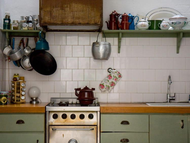 Cuisine vintage - Deco cuisine vert ...