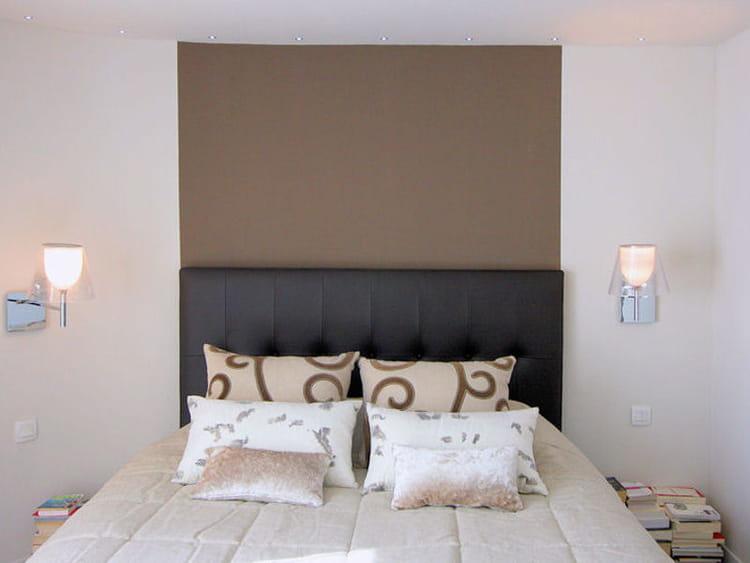 Couleur taupe en t te de lit couleur taupe 12 for Peinture pour chambre parentale