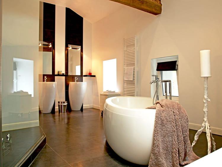 salle de bain contemporaine : 85105 salle de bain moderne grande salle ...