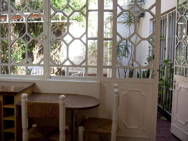 Une cuisine ouverte sur le jardin for Deco cuisine americaine
