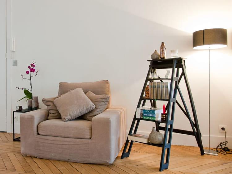 l 39 escabeau d co un rangement d co et tendance l. Black Bedroom Furniture Sets. Home Design Ideas