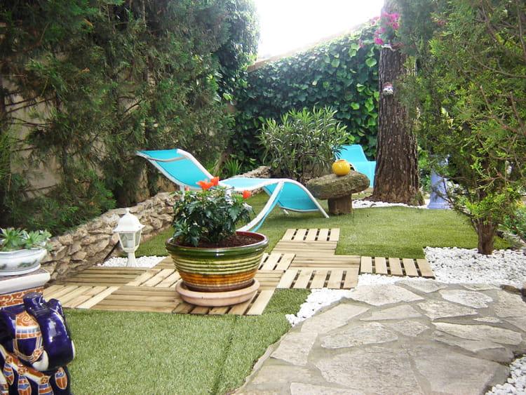 Puzzle de mat riaux le jardin design sobre et - Deco jardin journal des femmes toulouse ...