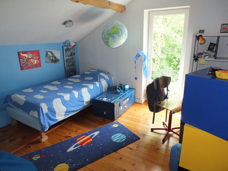 Une chambre dans les nuages r sultat concours la chambre de votre enfant journal des femmes for Idee peinture chambre femme