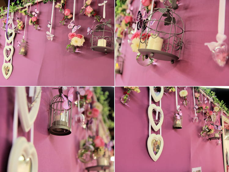 Decoration murale mariage meilleures images d for Decoration murale romantique