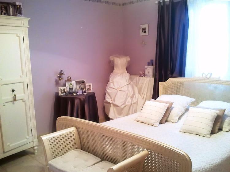 Vos plus belles chambres romantiques journal des femmes for La plus belle chambre