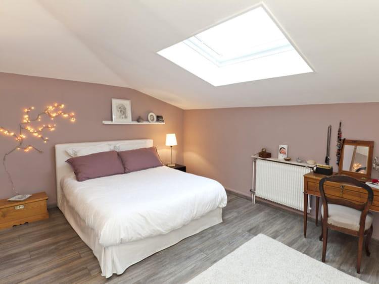 vieux rose vos plus belles chambres romantiques journal des femmes. Black Bedroom Furniture Sets. Home Design Ideas