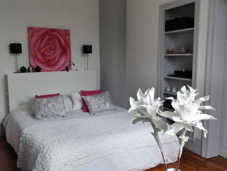 fleurs romantiques vos plus belles chambres romantiques journal des femmes. Black Bedroom Furniture Sets. Home Design Ideas