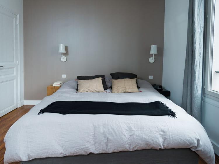 Decoration Cuisine Blog : Chambre douce et neutre  Une vraie maison de famille fonctionnelle