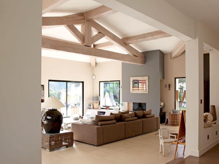 Plan D Une Villa Des Stars : Des volumes magnifiés une villa d architecte tout en
