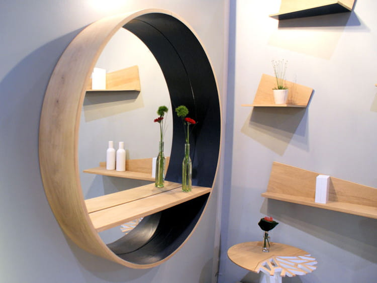 miroir tag re de drugeot labo maison objet la d co. Black Bedroom Furniture Sets. Home Design Ideas