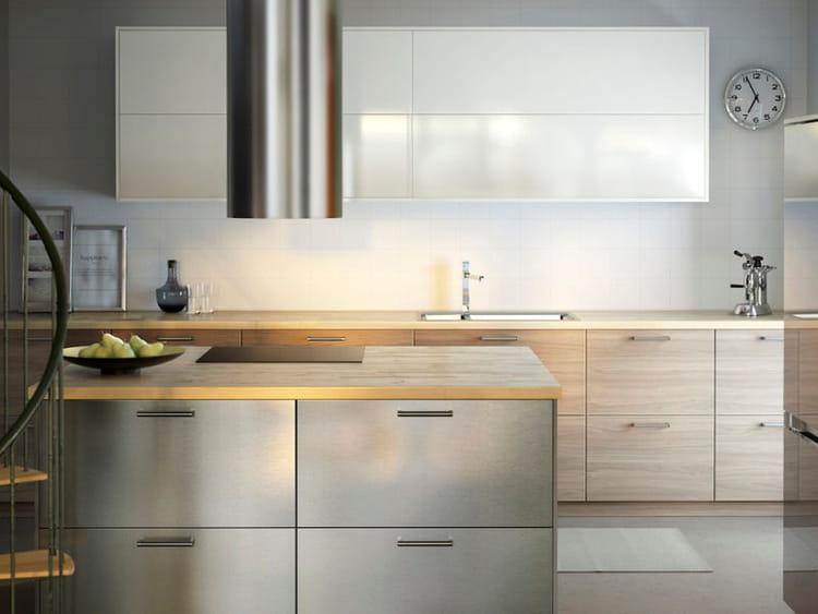 Des mat riaux intemporels cuisine la nouvelle metod d for Materiaux cuisine