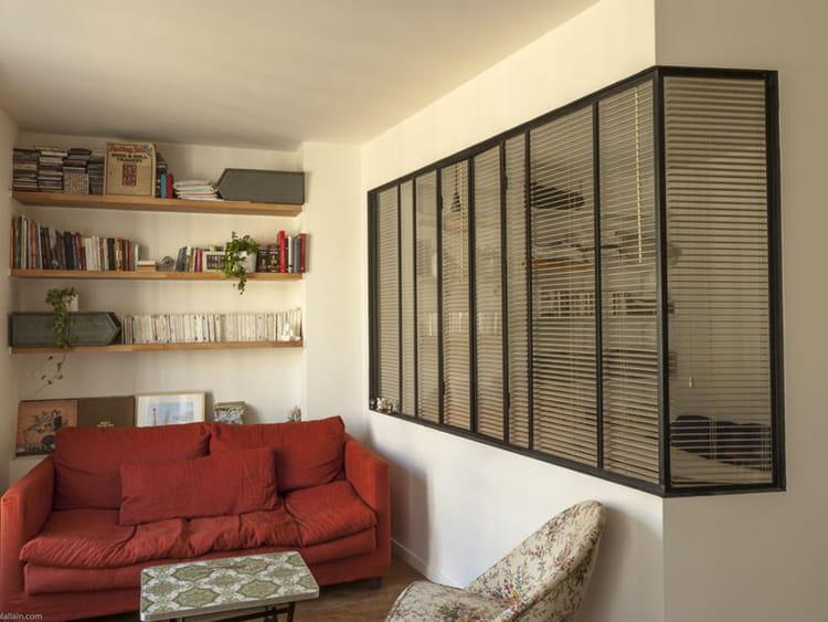 avant apr s un petit appart 39 avec une verri re qui en jette journal des femmes. Black Bedroom Furniture Sets. Home Design Ideas