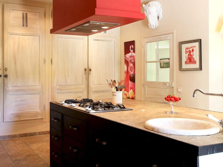 en gr s clair cuisine 20 plans de travail copier journal des femmes. Black Bedroom Furniture Sets. Home Design Ideas