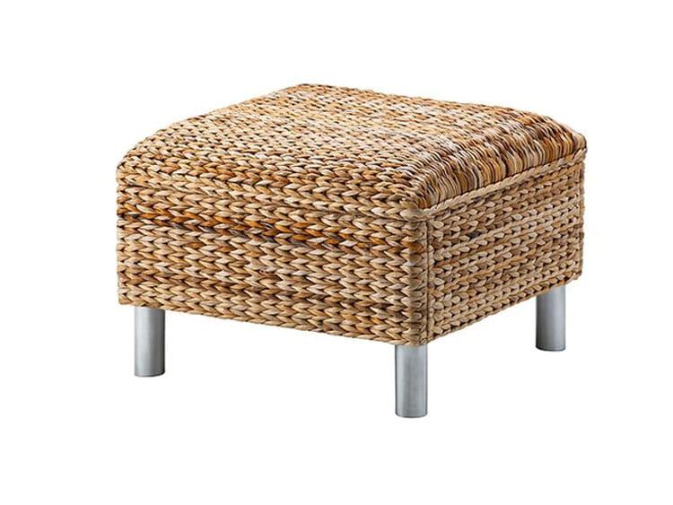 un pouf en fibres naturelles je veux le m me la maison. Black Bedroom Furniture Sets. Home Design Ideas
