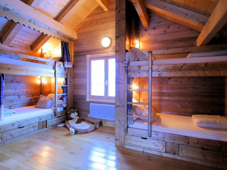 esprit chalet chambre d 39 enfants esprit dortoir pour ma tribu journal des femmes. Black Bedroom Furniture Sets. Home Design Ideas