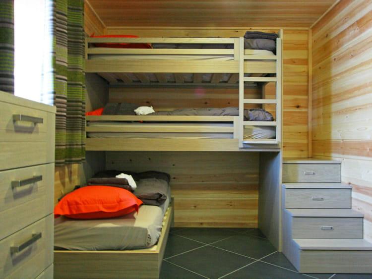 Dortoir astucieux - Rangement astucieux chambre ...