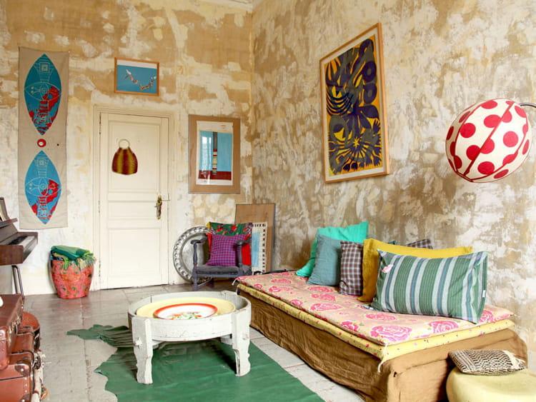 je veux le m me la maison une d co mix and match journal des femmes. Black Bedroom Furniture Sets. Home Design Ideas