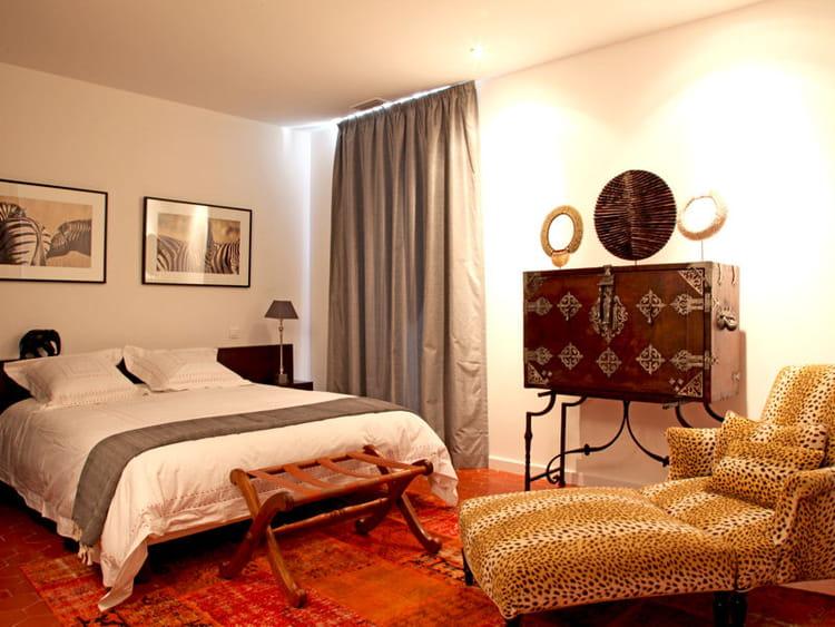 chambre africaine ma chambre comme l 39 h tel journal des femmes. Black Bedroom Furniture Sets. Home Design Ideas