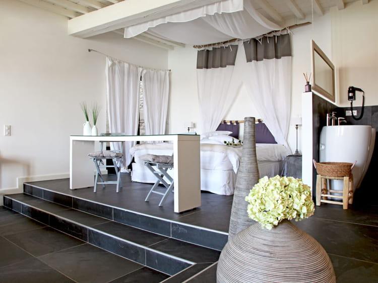 Estrade Dans Chambre : de estrade dans chambre : Chambre en estrade Style urbain chic dans ...