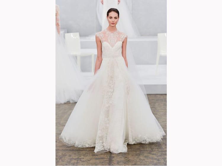 La robe boh me monique lhuillier bridal fashion week de for Monique lhuillier robes de mariage