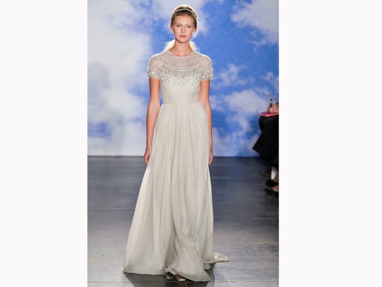 La robe bijoux de jenny packham bridal fashion week de for Jenny packham robe de mariage de saule