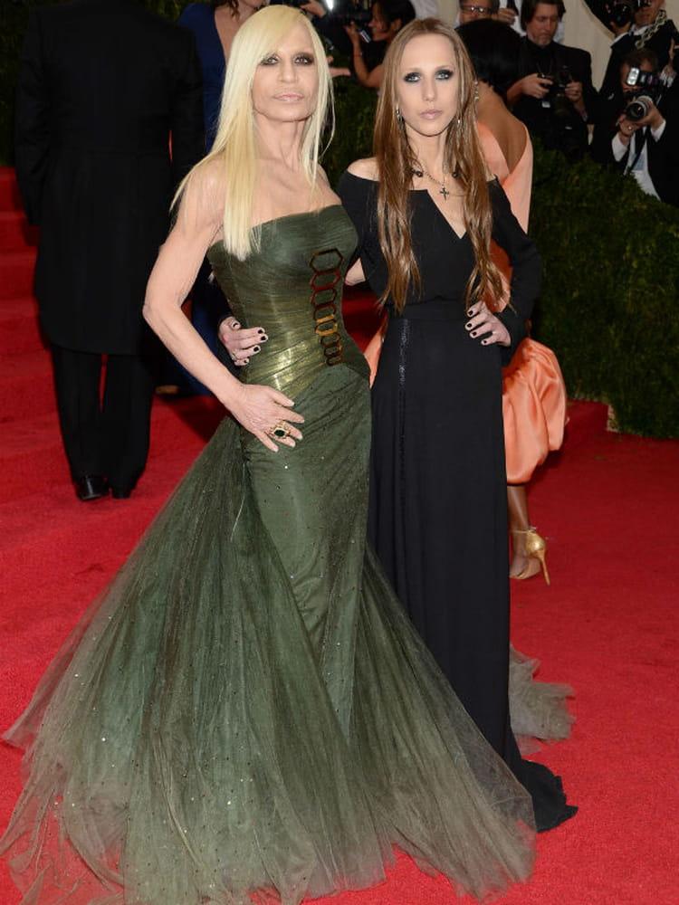 Allegra Versace couple