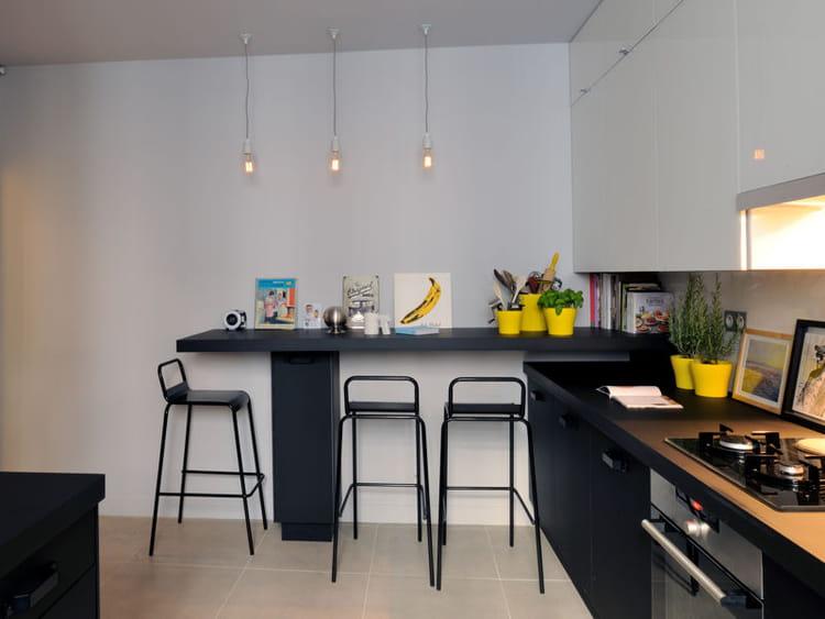 un coin repas int gr et pratique avant apr s la cuisine in de leroy merlin journal des. Black Bedroom Furniture Sets. Home Design Ideas