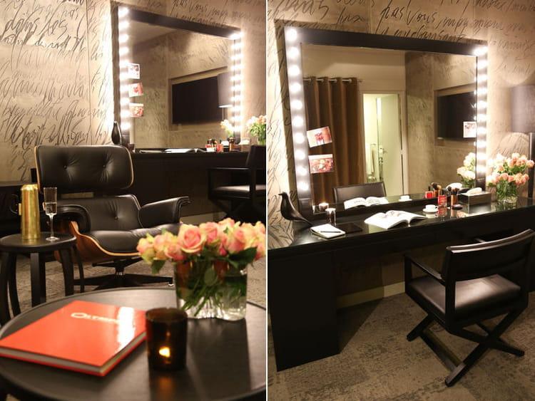 miroir de star indiscr tions les loges red cor es de l. Black Bedroom Furniture Sets. Home Design Ideas