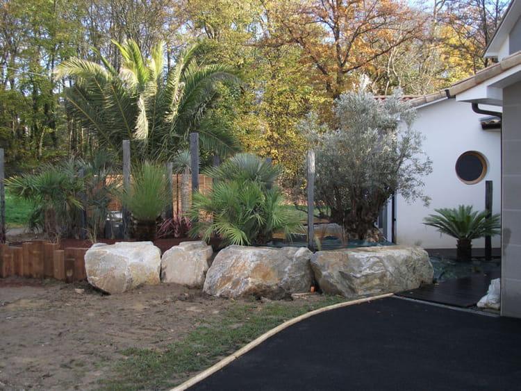 L 39 entr e du jardin un jardin sec et exotique avec Entree de jardin