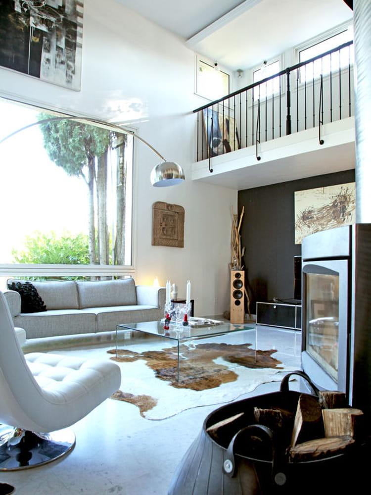 Une maison darchi avec mezzanine : 20 duplex et triplex qui font ...