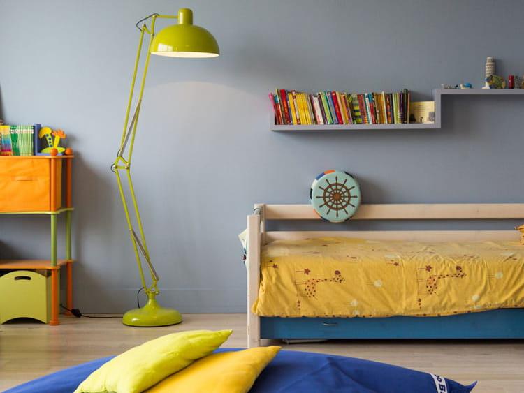 chambre garcon jaune et bleu en bleu et jaune des chambres denfant croquer journal des femmes en bleu et jaune des chambres - Chambre Bleu Et Jaune