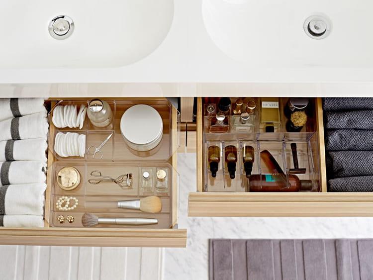 Rangement malin pour salle de bains ikea les belles - Rangement pour salle de bain ...