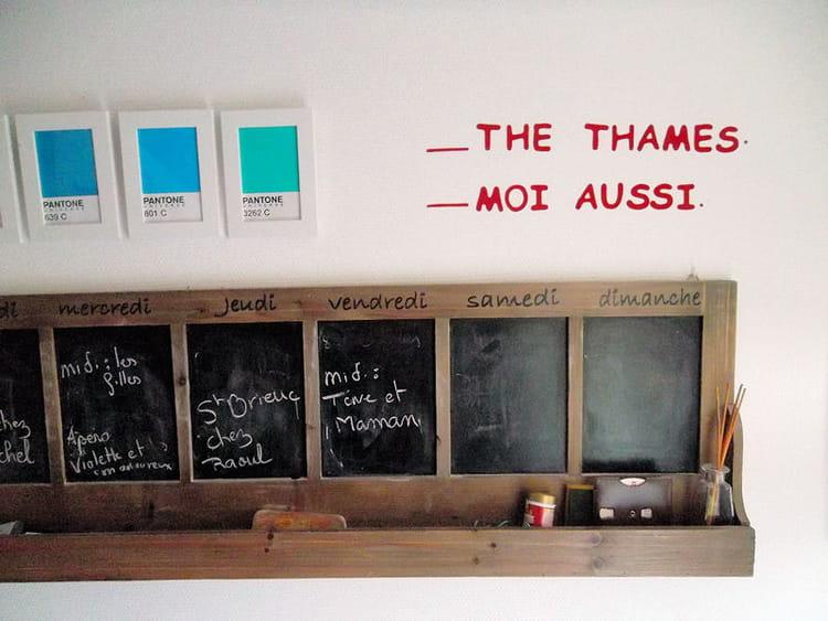 Best semainier bois et ardoises gallery awesome interior for Interieur opleiding hbo