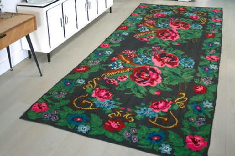 l 39 objet du d sir le tapis kilim chez retour de chine. Black Bedroom Furniture Sets. Home Design Ideas