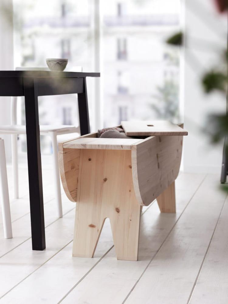 un banc qui cache bien son jeu ikea une collection. Black Bedroom Furniture Sets. Home Design Ideas
