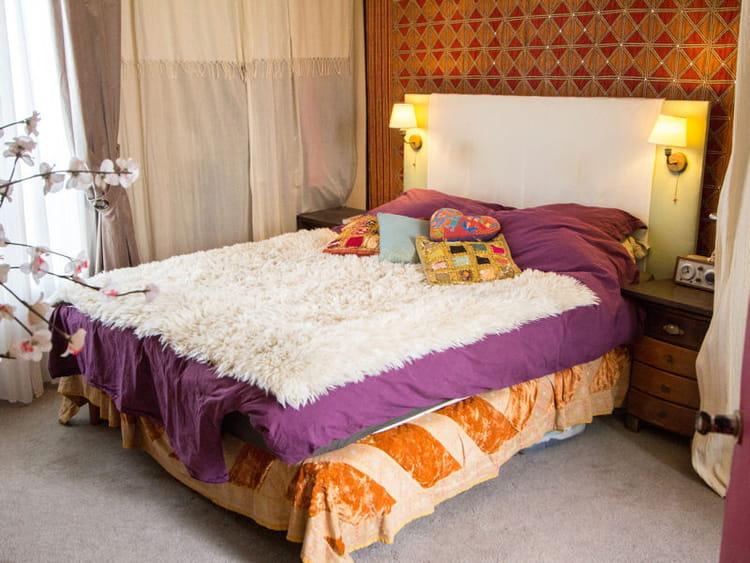 orn e d 39 appliques 50 id es pour refaire sa t te de lit journal des femmes. Black Bedroom Furniture Sets. Home Design Ideas