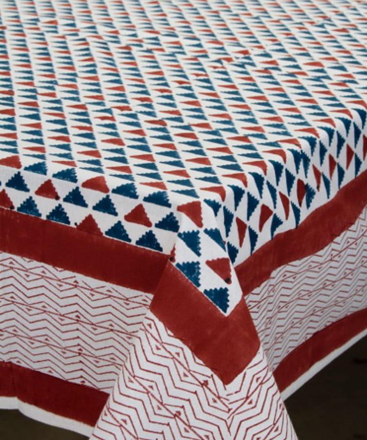 gwenn rectangle table cloth brique recadrã©e