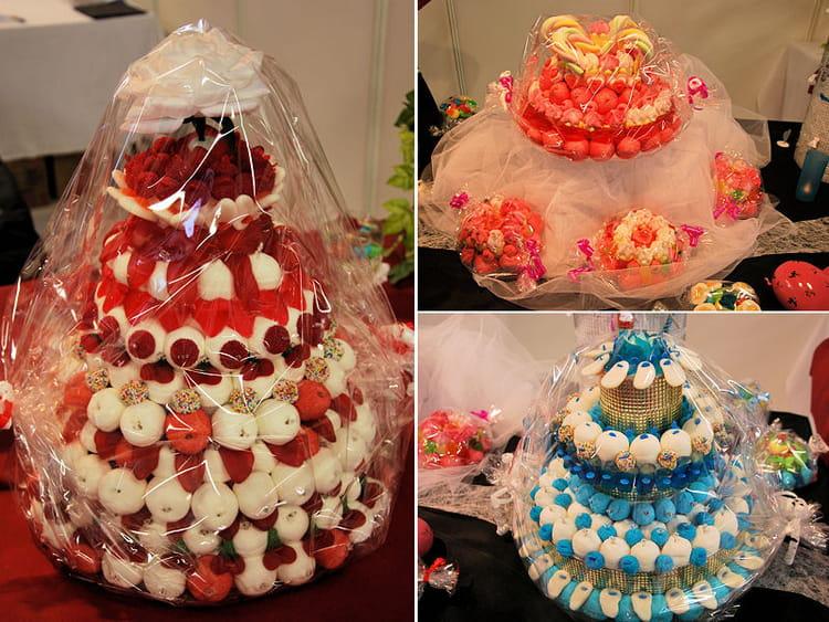 Le gâteau de bonbons pour les gourmands : Salon du Mariage et du pacs ...