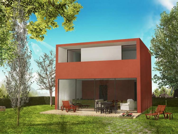 Maison cube moderne for Maison moderne cube
