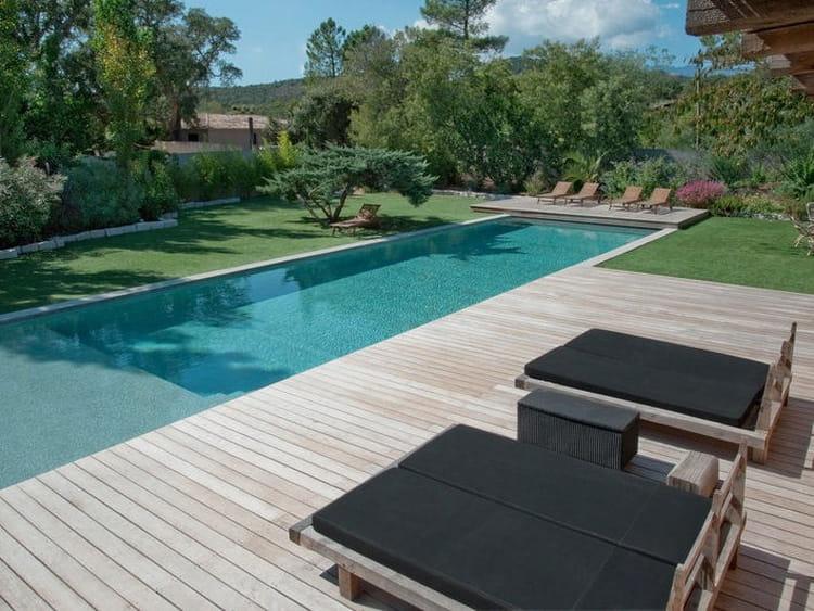 Couloir de nage troph e d 39 or des piscines qu 39 on for Jardin en couloir