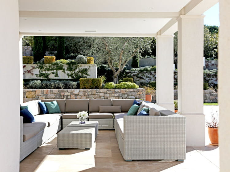 Terrasse version luxe