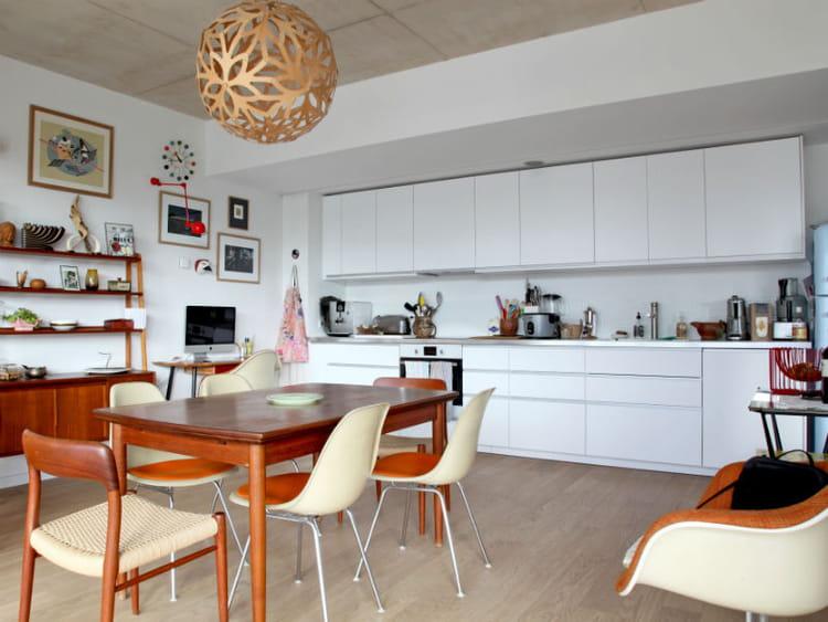 Cuisine ikea blanc et inox les cuisines ikea en situation journal des femmes for Petite cuisine ikea