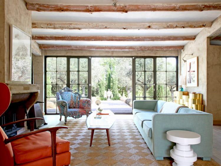 baies vitr es sur le jardin des maisons ouvertes sur l 39 ext rieur journal des femmes. Black Bedroom Furniture Sets. Home Design Ideas
