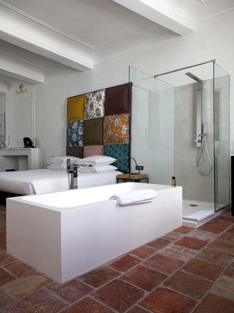 Design moderne comment faire une salle de bains ouverte sur la chambre - Comment faire une salle de cinema ...
